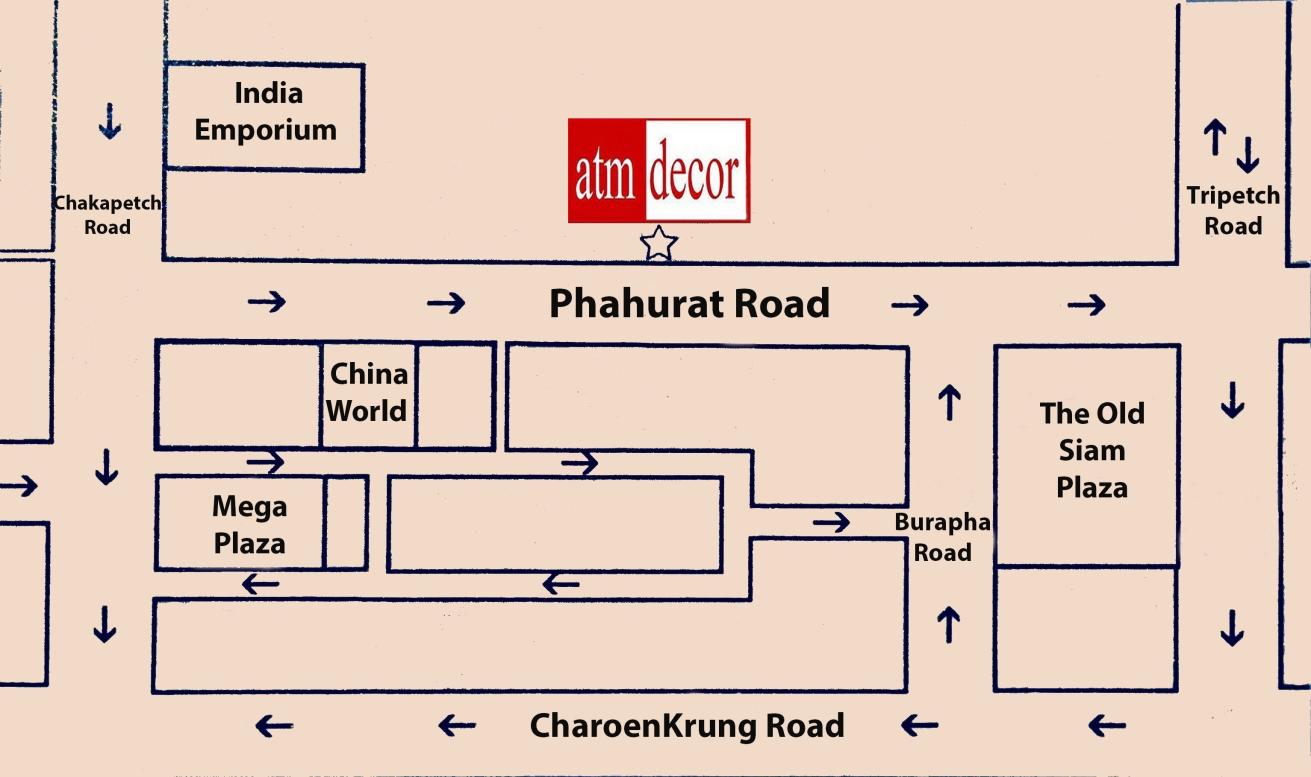 ATM Decor Curtains Shop Phahurat Bangkok