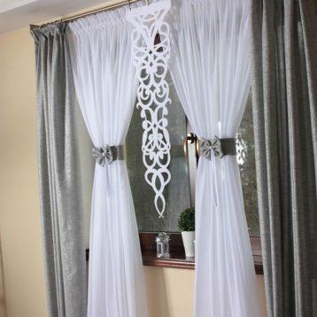 ผ้าม่านโปร่งแสง ทำให้บ้านมีบรรยากาศอบอุ่น ดูซอฟท์ลง สามารถใช้กับงานตกแต่งทุกสไตล์