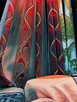 ผ้าทำผ้าม่าน 2.80 เมตร ต้องวางลายผ้าอย่างไร?