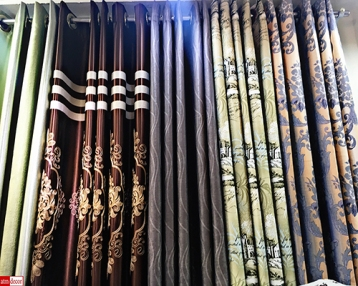 Bangkok Curtain Fabrics Phahurat (Pahurat) Shop near The Old Siam, India Emporium, and China WorldShop The Old Siam India Emporium China World