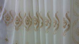 ผ้าโปร่งลายปัก: ผ้าโปร่งอมตะ สวยงามตลอดกาล