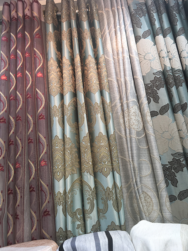 Bangkok curtains shop sells curtain fabrics budget prices