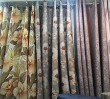 Bangkok Curtain Fabrics Shop near The Old Siam, India Emporium, and China World