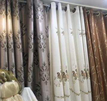Bangkok Curtains Shop Fabric Plus