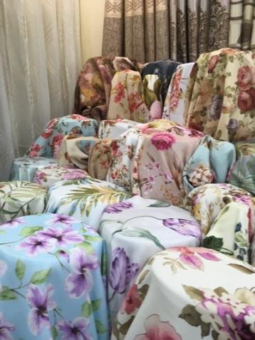 blackout floral curtains