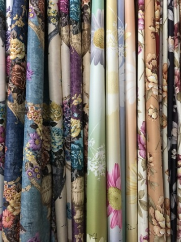 curtain floral designs bangkok