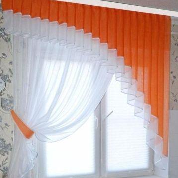 ผ้าม่าน diy สวยหรู สีส้ม สวยสด น่ารัก
