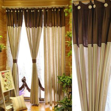 ผ้าม่าน เอิร์ธโทน สีเหมาะกับ Tropical Interior Design