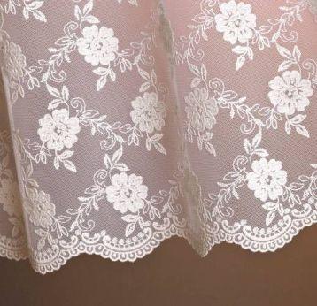 ผ้าม่านโปร่ง ปักงาม