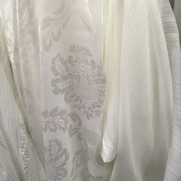 ผ้าม่านโปร่งแสง ลายสวยงาม
