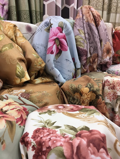 floral curtains bangkok