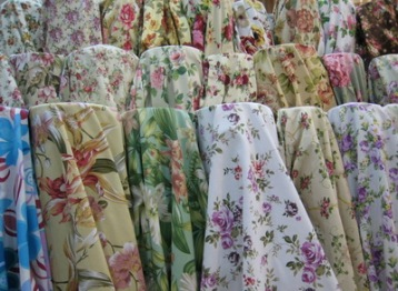 floral curtains bangkok