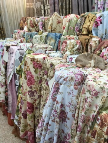 floral curtains bangkok uv blocking