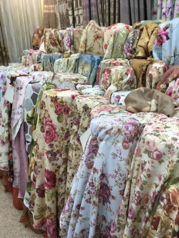 floral curtains bangkok uv blocking