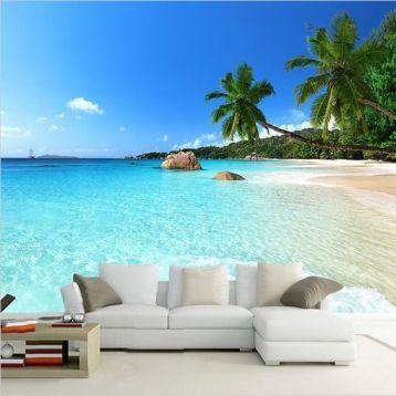 wallpaper ชายหาด