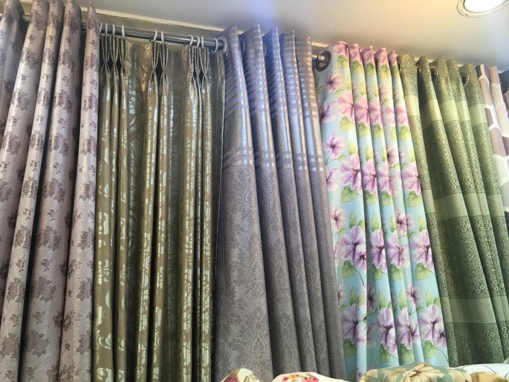 ผ้าม่านกันUV ร้านผ้าม่าน แฟบริค พลัส ตลาดพาหุรัด