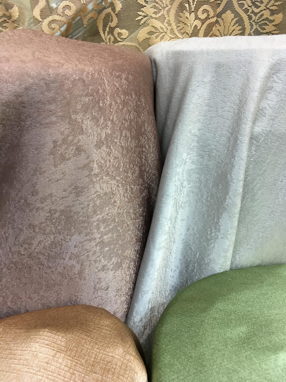 ผ้าเย็บผ้าม่านกันUV ชนิดขนสั้นเกรียน