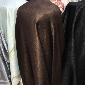 ผ้าม่านกันUV สีน้ำตาล rich brown พื้นผิวดีเยี่ยม หน้ากว้าง 2.80 เมตร ผ้าม่านกันUV ร้านผ้าม่านพาหุรัด บริษัท แฟบริค พลัส แหล่งผ้าทำผ้าม่านประเทศไทย