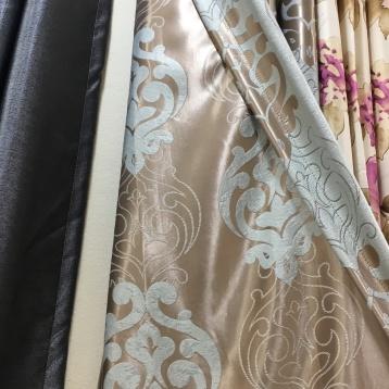 ผ้าม่านตาไก่ สวยสองหน้า ผ้าม่านกันuv ร้านผ้าม่านพาหุรัด