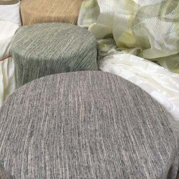 ผ้าม่านกันuv เนื้อหนาพิเศษ สีพื้นเทา หน้ากว้าง ร้านผ้าม่านพาหุรัด บริษัท แฟบริค พลัส แหล่งผ้าทำผ้าม่านประเทศไทย