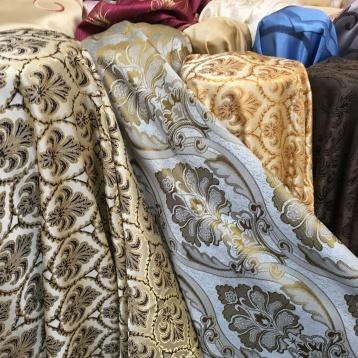ผ้าม่าน satin jacquard ร้านผ้าม่านราคาถูก