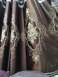 ผ้าม่านลายสวยๆ เย็บเป็นผ้าม่านตาไก่ สไตล์ทันสมัย Interior Design โมเดิร์น