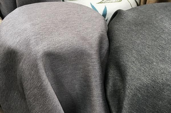 ผ้าหุ้มเบาะซาติน เนื้อหนาพิเศษ หน้ากว้างพิเศษ สีเทา