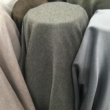 ผ้าหุ้มเบาะ เนื้อกระสอบ ทออย่างหนาแน่น สี Earth Tone