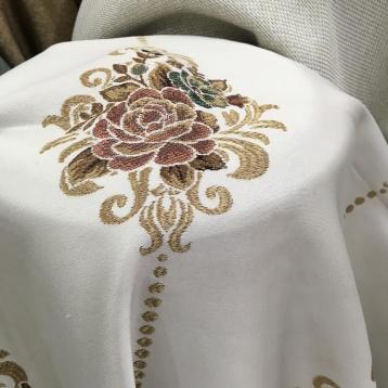 ผ้าหุ้มเบาะ สี Multi Color ลวดลายทอ Yarn Dye สวย หรู เนื้อผ้าหนานุ่ม