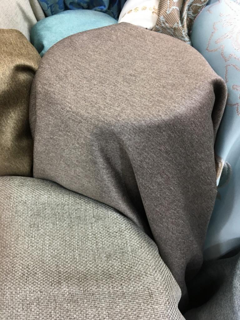 ผ้าหุ้มเบาะซาติน เนื้อหนาพิเศษ หน้ากว้างพิเศษ สีน้ำตาล Earth Tone