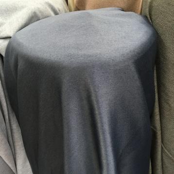 ผ้าม่านกันUV เนื้อซาติน รุ่นหนาพิเศษ หน้ากว้างพิเศษ สีเทาเข้ม