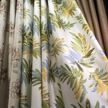 ผ้าม่านลายดอกไม้สวยๆ จำหน่ายราคาส่ง ที่ร้านผ้าม่าน ATM Decor บริษัท แฟบริค พลัส พาหุรัด