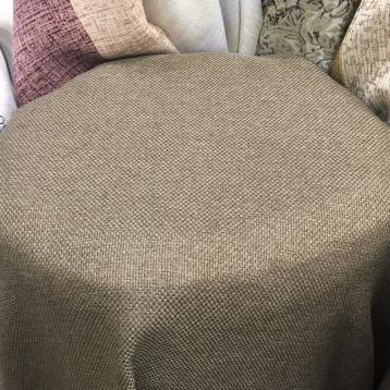 ผ้าหุ้มเบาะเนื้อกระสอบ พื้นสีน้ำตาล Earth Tone หน้ากว้างพิเศษ 2.80 เมตร
