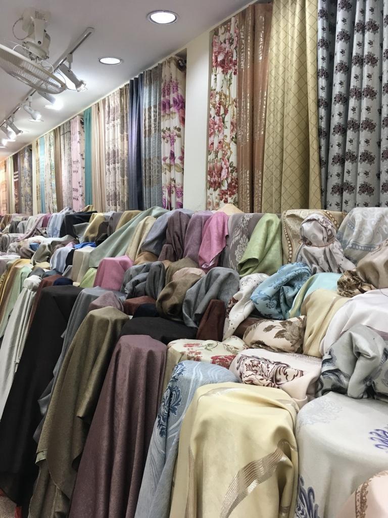 ร้านผ้าม่าน ATM Decor ราคาโรงงาน ถนนพาหุรัด บริษัทผ้าม่าน Fabric Plus