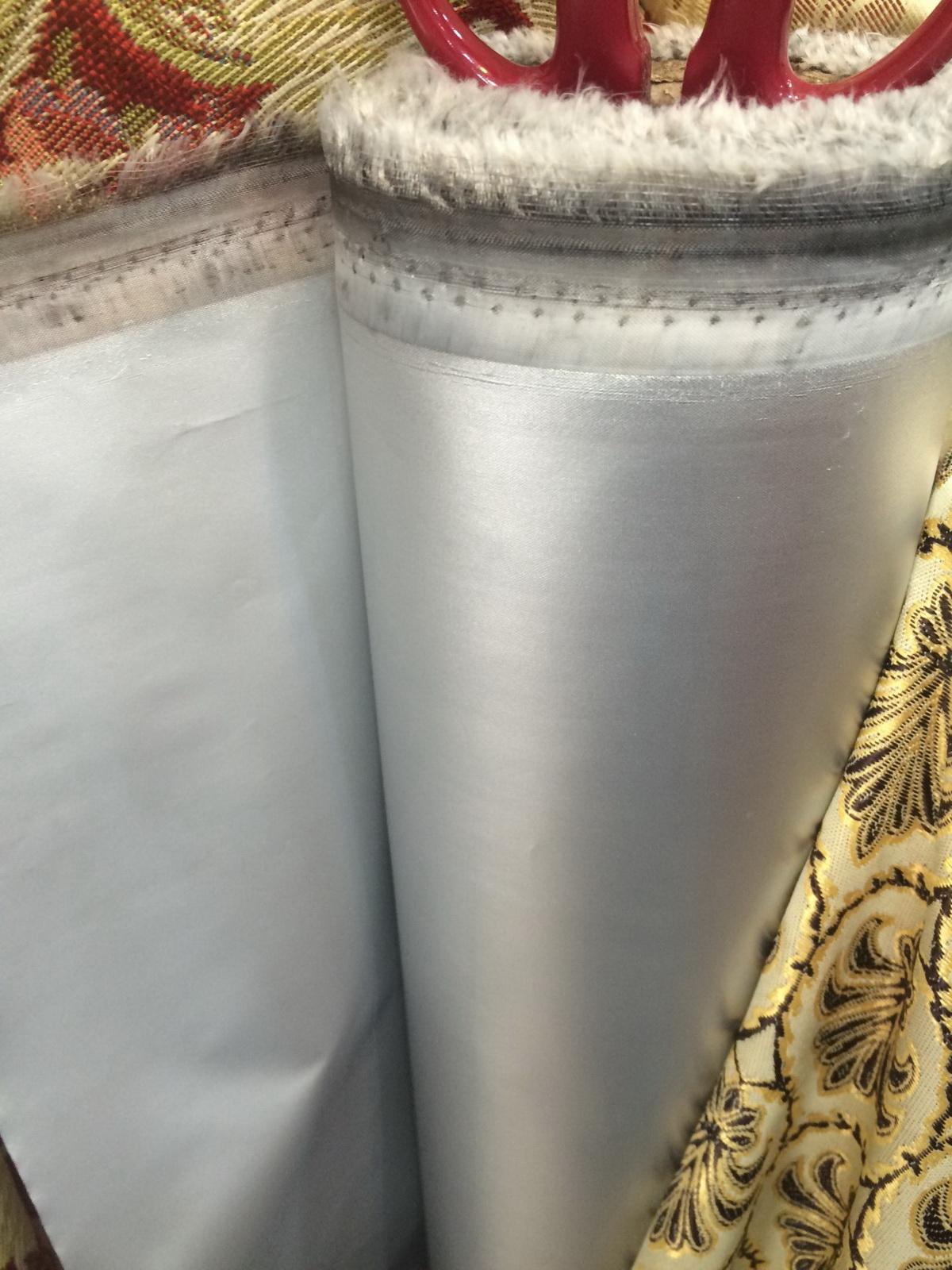ผ้าฉาบปรอท กันแสง 100% ซับผ้าม่าน สร้างบรรยากาศผ่อนคลาย อากาศห้องเย็นสบาย